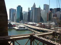 6647   View of Manhattan from Brooklyn Bridge