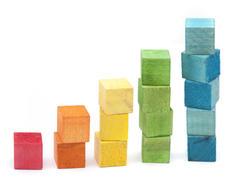 6962   Colourful building blocks