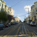 stock image 5571   cable car tracks