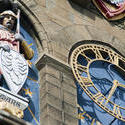 7586   Cardiff Castle Clock Tower detail