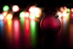 6808   Colourful Christmas lights