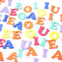 6952   Colourful collection of vowels