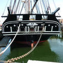 6640   The USS Constitution in Boston harbour