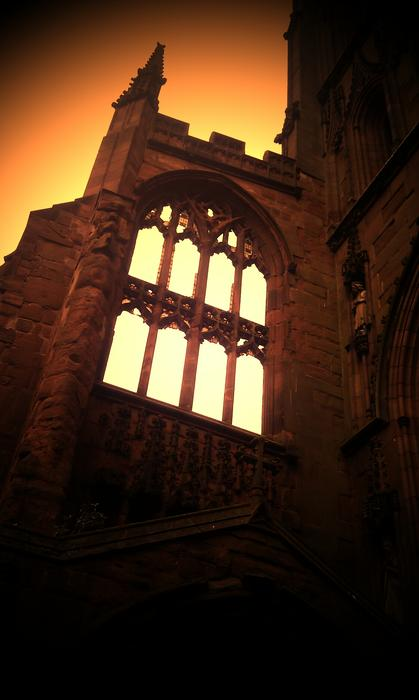 <p>Cathedral ruins, Coventry</p>
