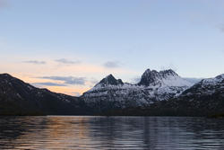 5888   winter sunset cradle mountains
