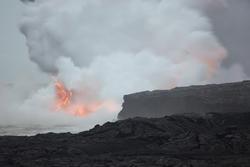 5516   Kalapana Lava Erruption