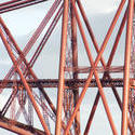 7151   Detail of the cantilever Forth Rail Bridge