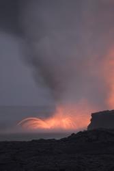 5519   hot lava erruption