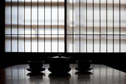 6068   japanese tea slhouette