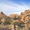 5653   desert rainbow landscape