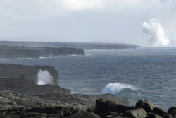 5505   Lava meets the Ocean