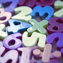 7005   Colourful plastic kids educational numbers