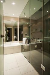 6931   Interior of a modern residential bathroom