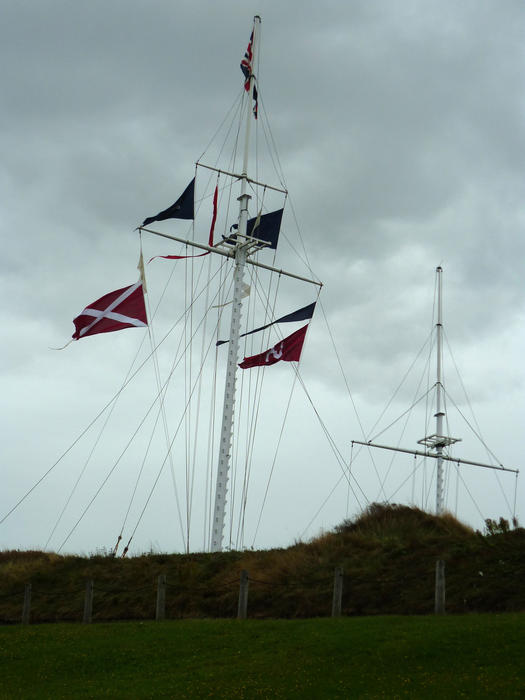 Art Décor: Free Stock Photo 6730 Nautical Flags On A Flagpole