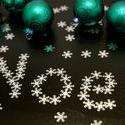 6822   Noel snowflake greeting