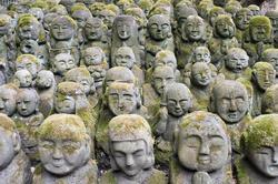 6097   Otagi Nenbutsu ji Sculptures