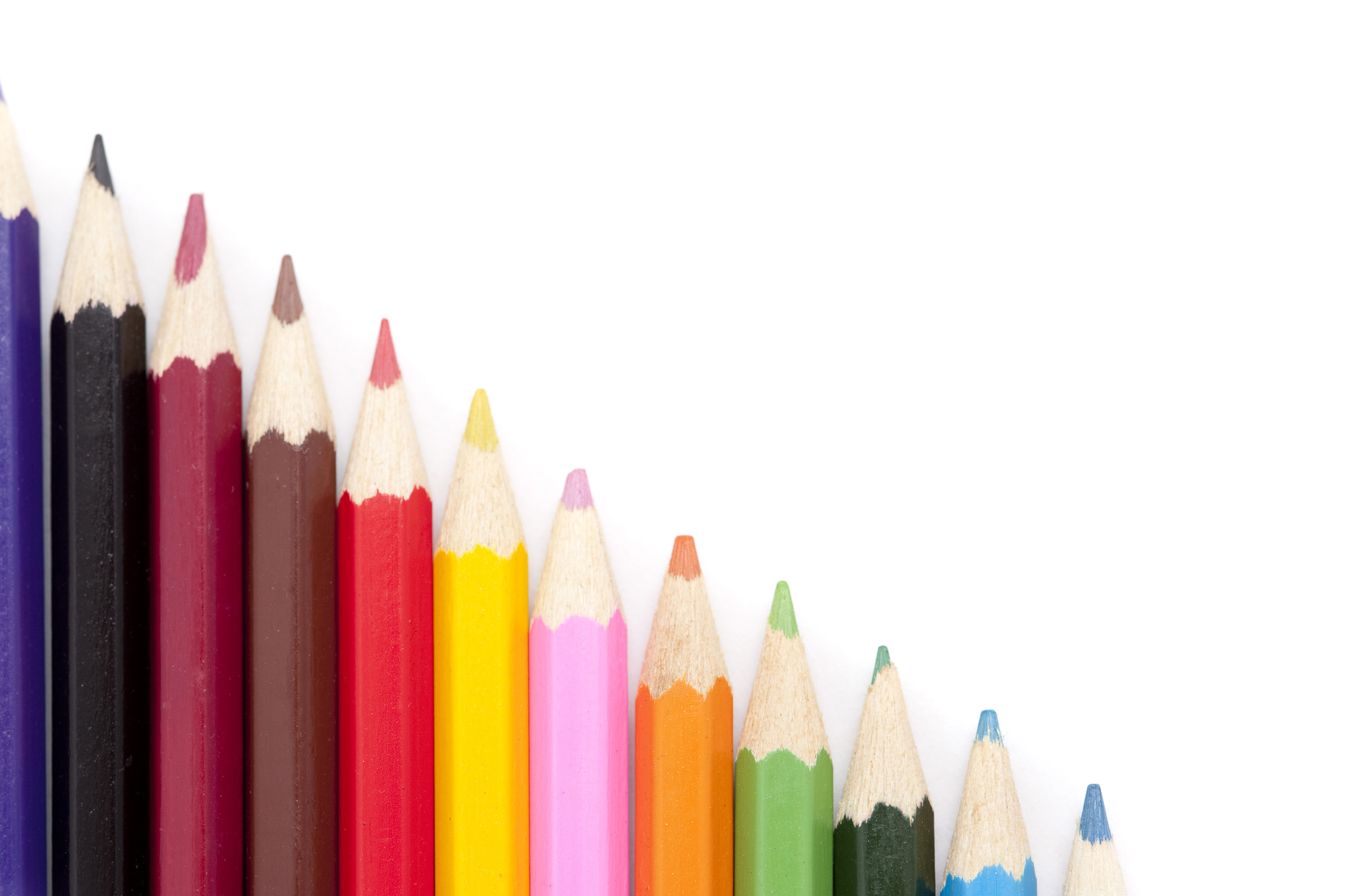 Free Stock Photo 7015 Coloring pencil stairs   freeimageslive