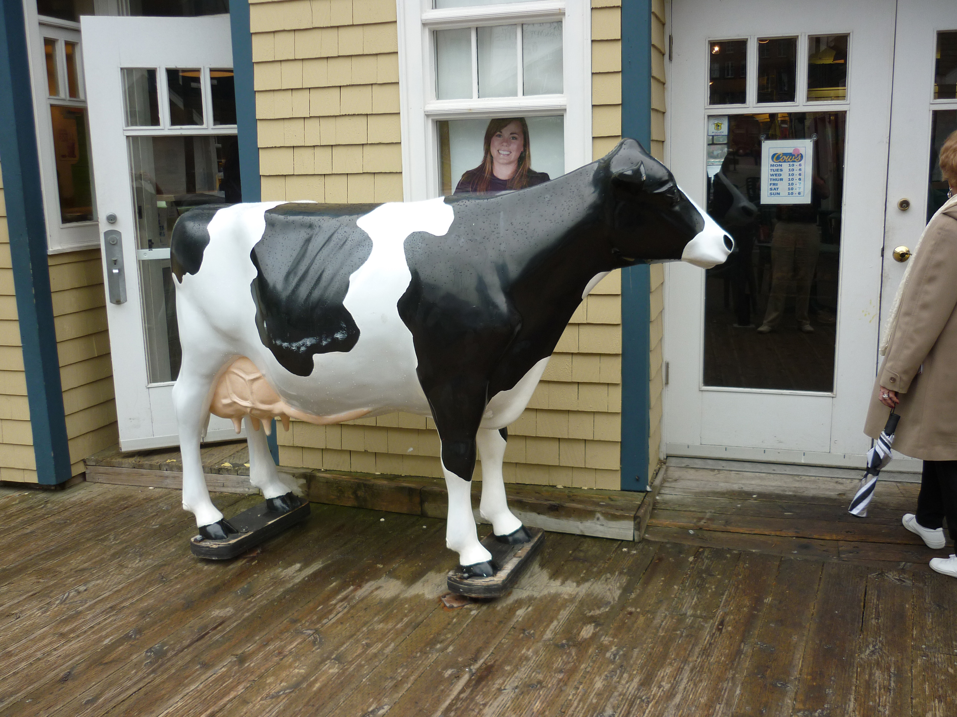 Free Stock Photo 6758 Large Plastic Model Of A Dairy Cow