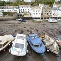 7313   Polperro fishing boats, Cornwall