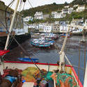 7267   Polperro fishing village, Cornwall