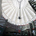 7091   Conical glass roof of the Sony Centre
