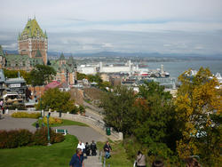 6737   View of Quebec City, Canada
