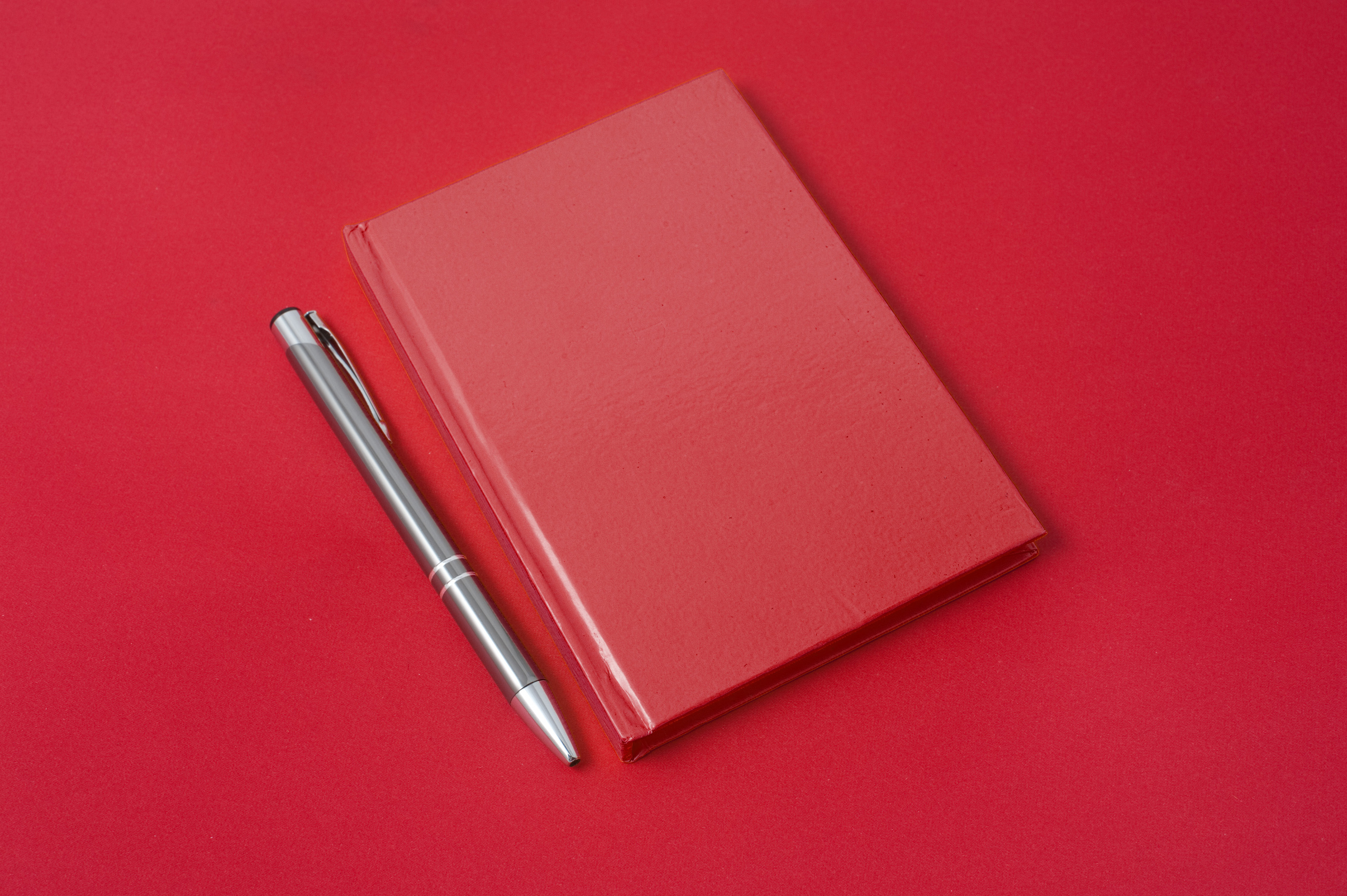 free stock photo 5314 red diary and pen