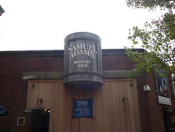6695   Entrance to Samuel Adams Brewery