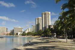 5535   beautiful Waikiki beach