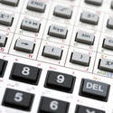 5429   Keypad of a scientific calculator