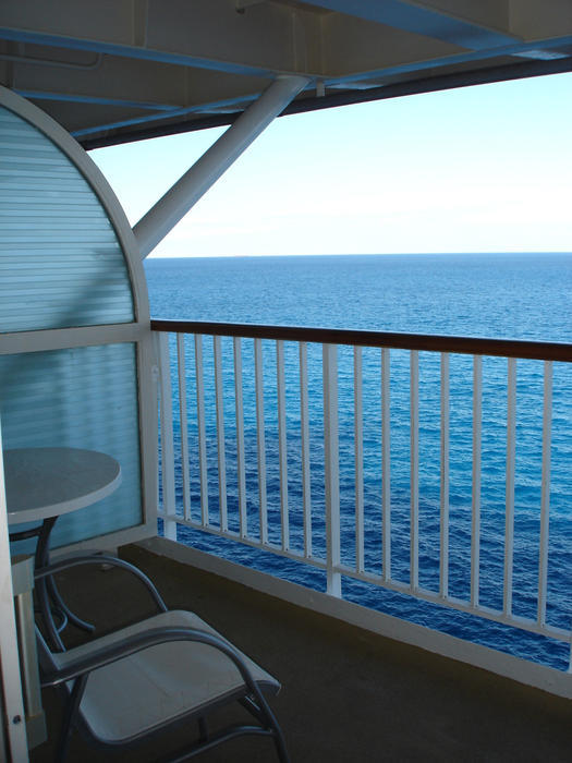 Free stock photo 6519 view from a ships balcony for Balcony in cruise ship