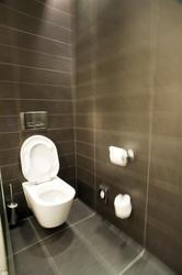 6889   Interior of a modern water closet