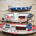 7332   Small fishing boats, St Ives harbour