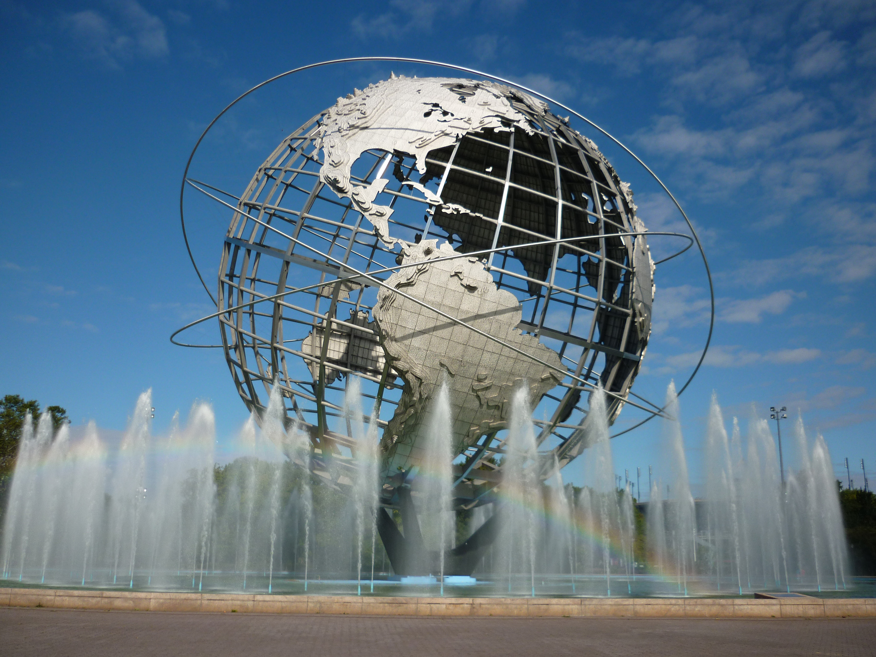 Free Stock Photo 6508 Unisphere In Flushing Meadows Freeimageslive