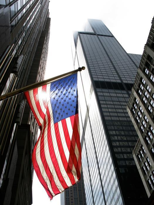 5812   Chicago USA Flag