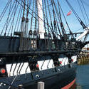 6705   USS Constitution in harbour