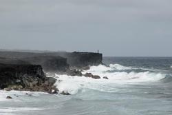5507   Kalapana rugged oceanscape