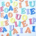 7033   Colorful Vowel Letters
