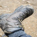 5872   muddy walking boot