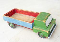 6797   Worn vintage toy truck