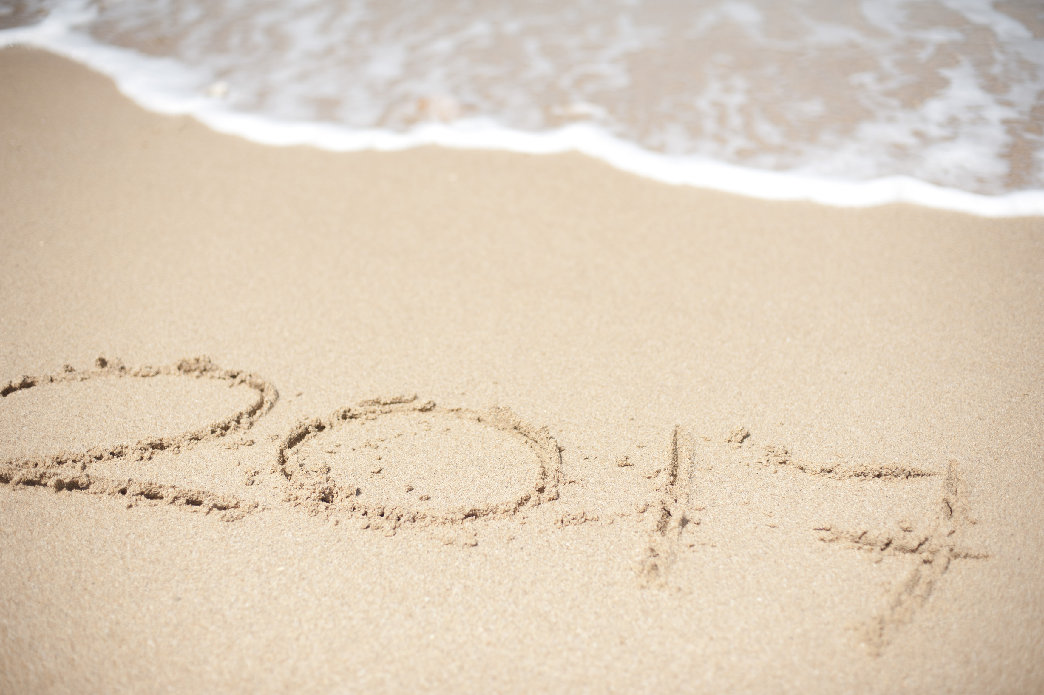 Free Stock Photo 11405 2017 Seaside New Year Greeting Freeimageslive