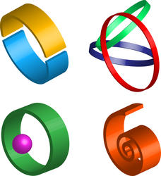 9391   3d logo icons