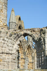 7921   Whitby Abbey ruins