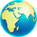 9270   africa globe