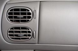 11126   Close up Air Conditioner Vents of a Car