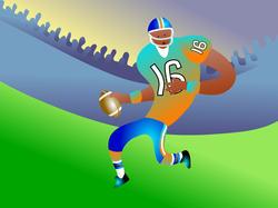 9504   american football