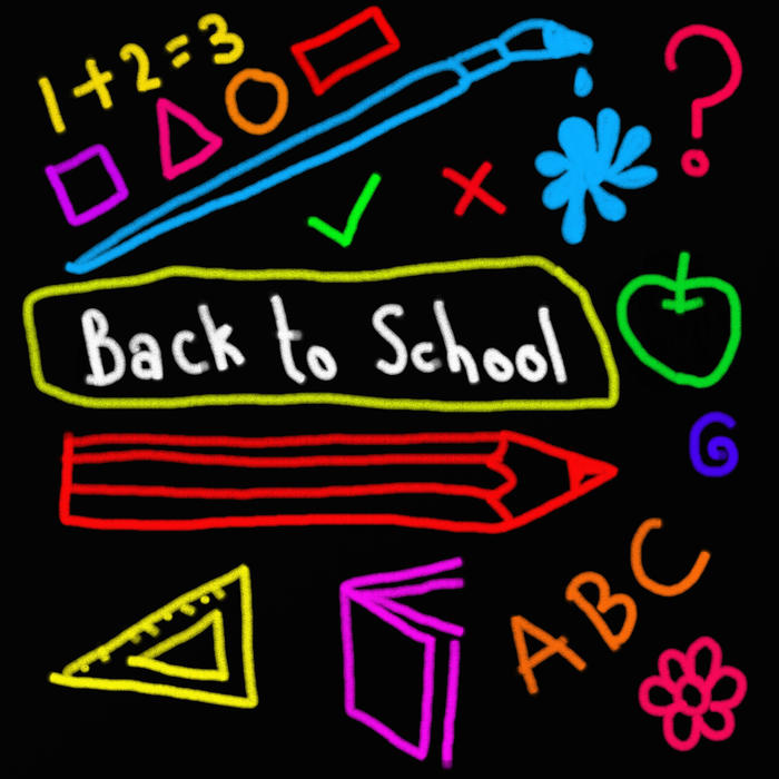 <p>Back to school clip art illustration.</p>