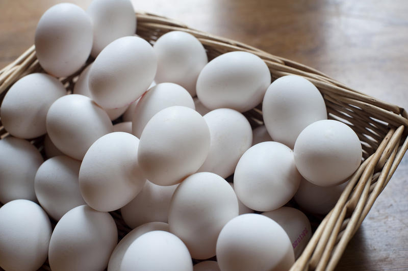 Eggs In Basket Oil Painting Signed Simon