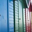 7839   Colourful beach huts