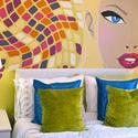7826   bedroom mural